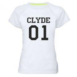 Женская спортивная футболка Clyde 01