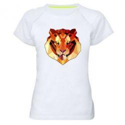 Женская спортивная футболка Colorful Tiger