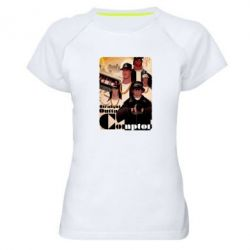 Женская спортивная футболка Compton's NWA - FatLine