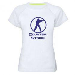 Женская спортивная футболка Counter Strike - FatLine