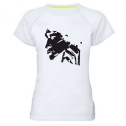 Женская спортивная футболка Цой - FatLine