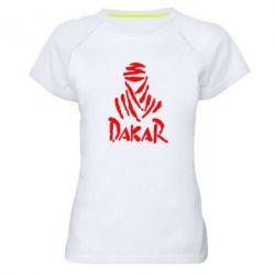 Женская спортивная футболка Dakar - FatLine
