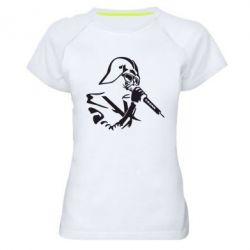 Женская спортивная футболка Дарт Вейдер караоке - FatLine