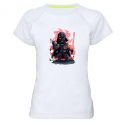Женская спортивная футболка Darth Vader Force - FatLine