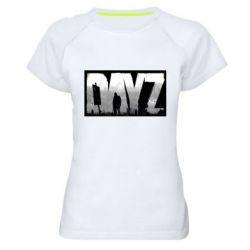 Женская спортивная футболка Dayz logo - FatLine