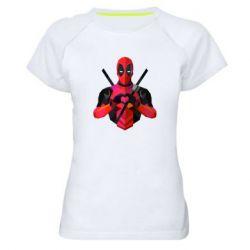 Жіноча спортивна футболка Deadpool Love