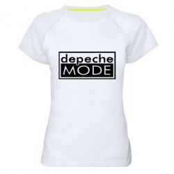 Женская спортивная футболка Depeche Mode Rock - FatLine