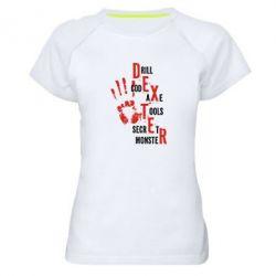 Женская спортивная футболка Dexter - FatLine