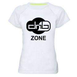 Женская спортивная футболка DnB Zone - FatLine
