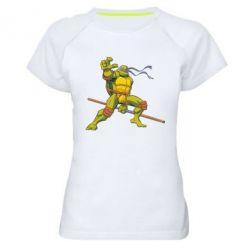 Женская спортивная футболка Donatello - FatLine