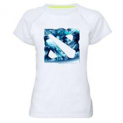 Женская спортивная футболка Dota 2 Fan Art (Logo) - FatLine