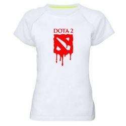 Женская спортивная футболка Dota 2 Logo - FatLine