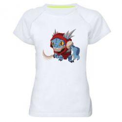 Женская спортивная футболка Dota 2 Slark Art - FatLine