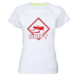 Женская спортивная футболка Drift - FatLine