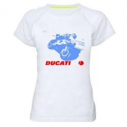 Женская спортивная футболка Dukati - FatLine