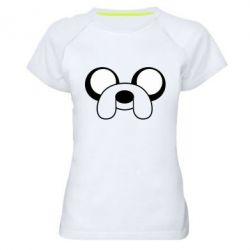 Женская спортивная футболка Джейк - FatLine