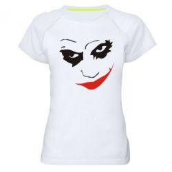 Женская спортивная футболка Джокер - FatLine