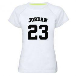Женская спортивная футболка Джордан 23