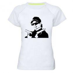 Женская спортивная футболка Eazy-E Gunz - FatLine