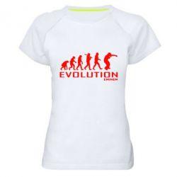 Женская спортивная футболка Eminem Evolution
