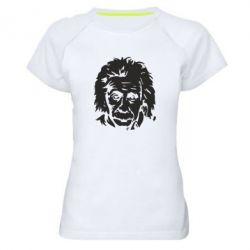 Жіноча спортивна футболка Енштейн - FatLine