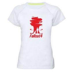 Женская спортивная футболка Fallout 4 Art - FatLine