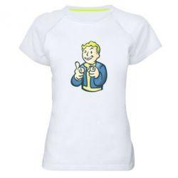 Женская спортивная футболка Fallout 4 Boy - FatLine