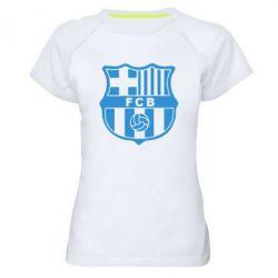 Женская спортивная футболка FC Barcelona