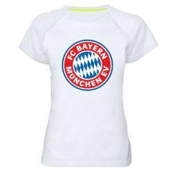 Женская спортивная футболка FC Bayern Munchen - FatLine