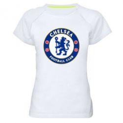 Женская спортивная футболка FC Chelsea - FatLine