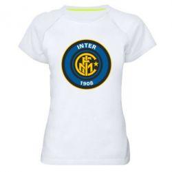 Женская спортивная футболка FC Inter - FatLine