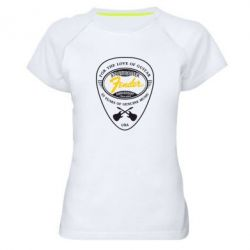 Женская спортивная футболка Fender - FatLine