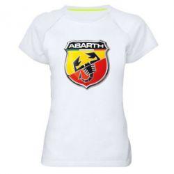 Женская спортивная футболка FIAT Abarth - FatLine