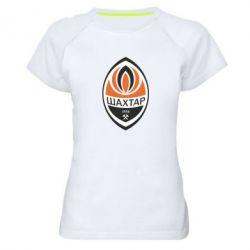 Женская спортивная футболка ФК Шахтер - FatLine