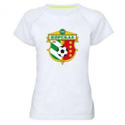 Женская спортивная футболка ФК Ворскла Полтава - FatLine