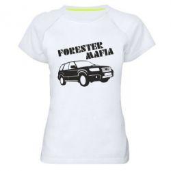 Женская спортивная футболка Forester Mafia