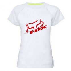 Женская спортивная футболка FOX Racing - FatLine