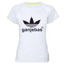 Женская спортивная футболка Ganjubas - FatLine