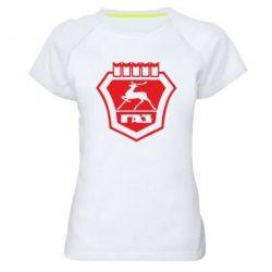 Женская спортивная футболка ГАЗ - FatLine