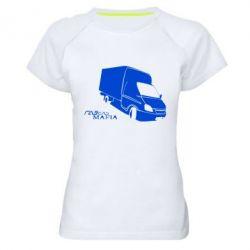 Женская спортивная футболка Газель Мафия