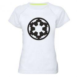 Женская спортивная футболка Герб Империи - FatLine