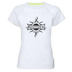 Женская спортивная футболка Godsmack - FatLine