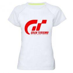 Женская спортивная футболка Gran Turismo - FatLine