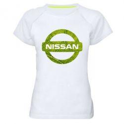 Жіноча спортивна футболка Green Line Nissan