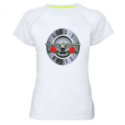 Женская спортивная футболка Guns n' Roses - FatLine