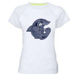 Женская спортивная футболка Gym Shark - FatLine