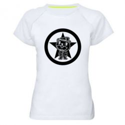 Женская спортивная футболка Happy Tree Friends - FatLine