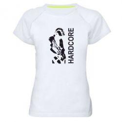 Женская спортивная футболка Harcore - FatLine
