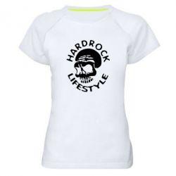 Женская спортивная футболка Hardrock lifestyle - FatLine