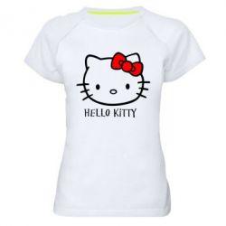 Жіноча спортивна футболка Hello Kitty
